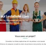 Trouver un pro au meilleur prix : Ledabelle fait son apparition